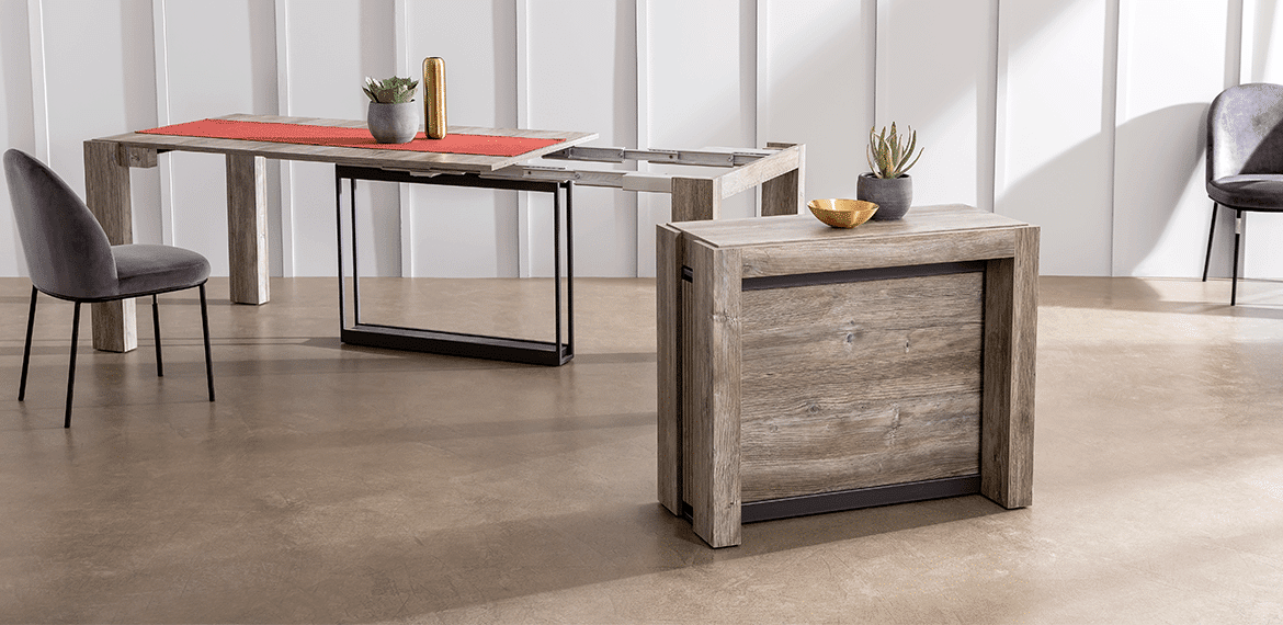 Console table modulable