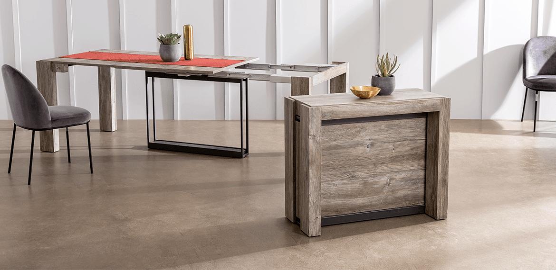 La table console extensible modulable