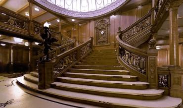 Comment le Titanic était-il meublé ?