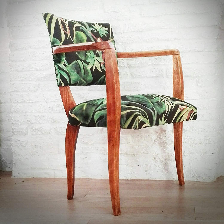 fauteuil bridge décoratif