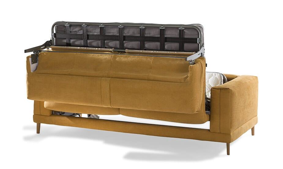 Mécanique du canapé convertible Jaune Baker