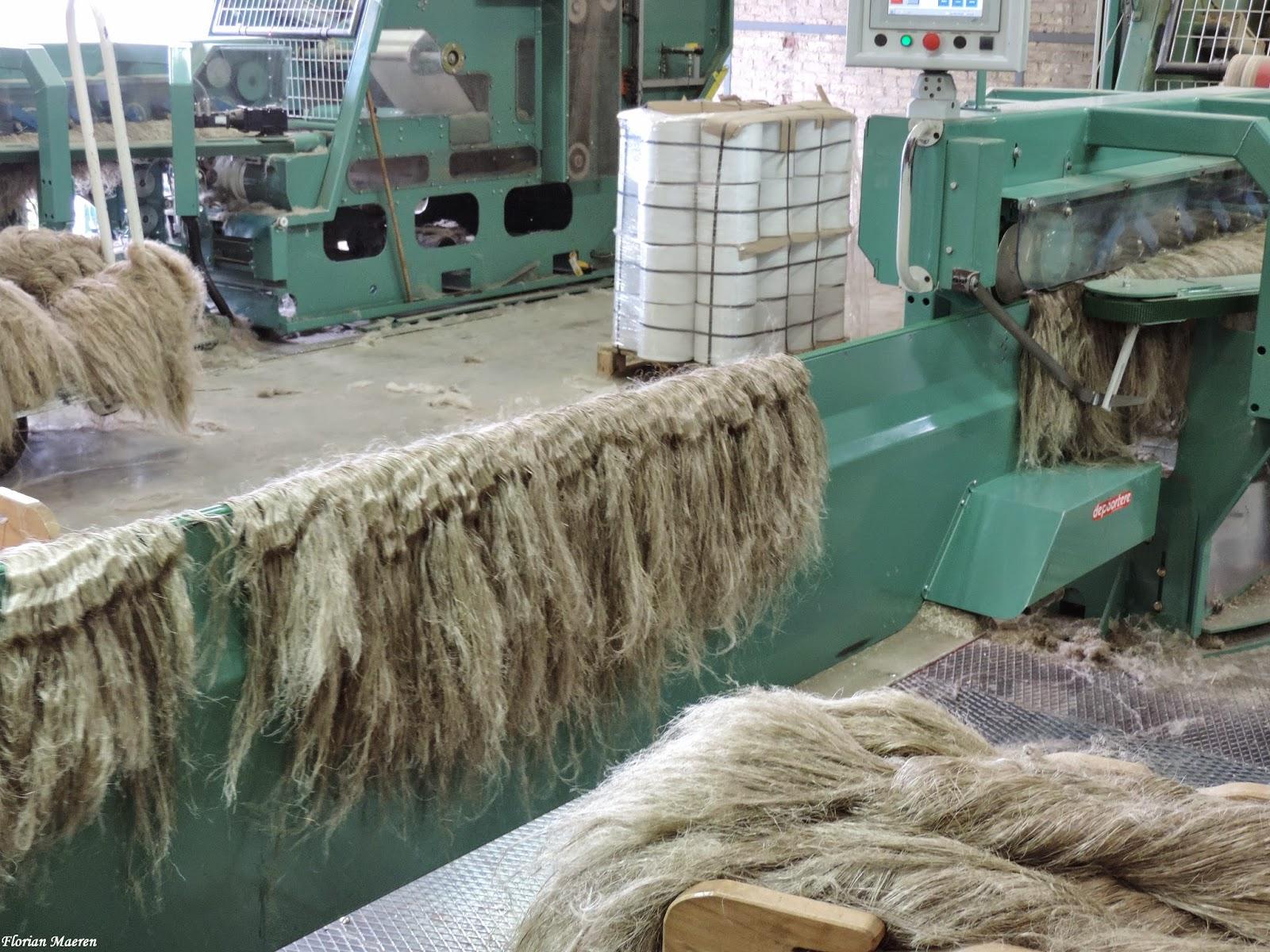 Lin-fibre-fabrication