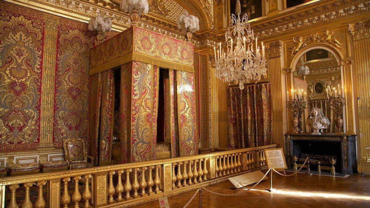 Chambre de Louis XIV Versailles France