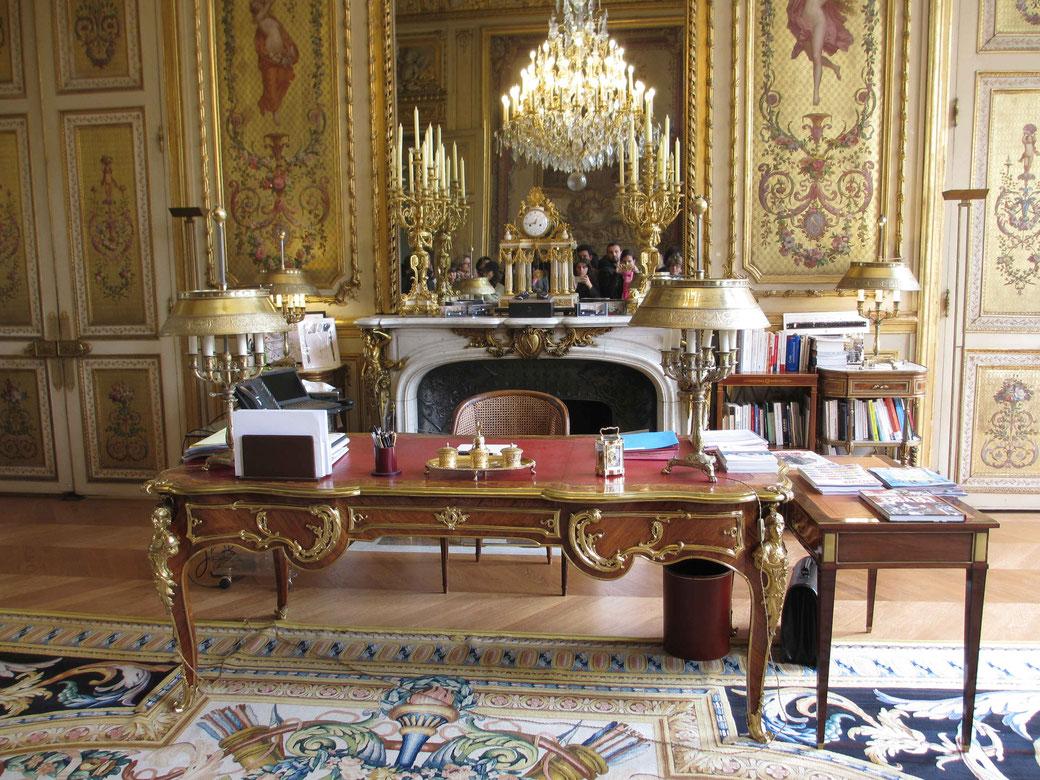 Salon doré Elysée