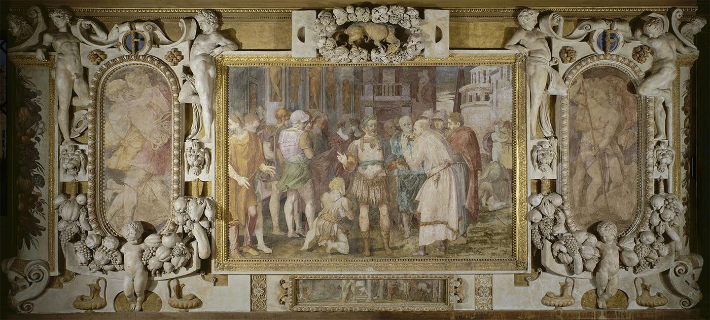 Plafond galerie François 1er