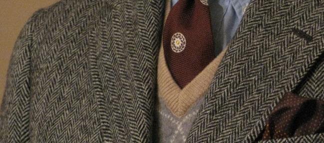 le tissu en tweed