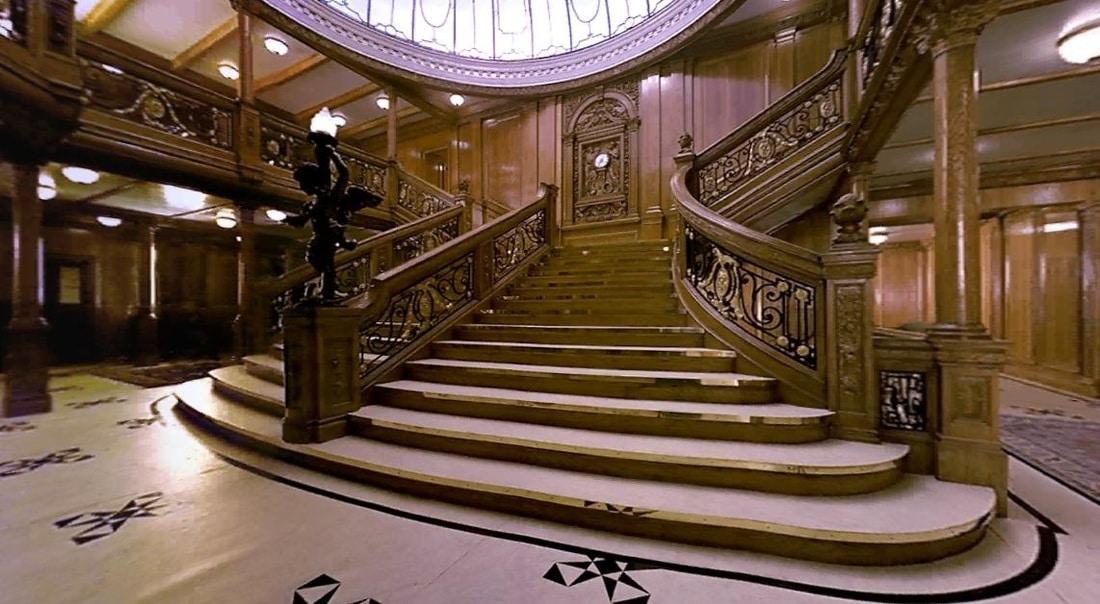 Le hall du titanic