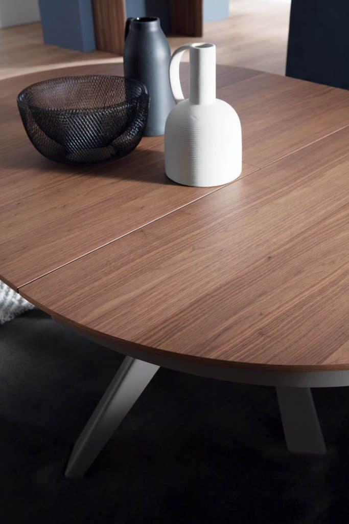 Les revêtements de la table basse relevable extensible emisfero