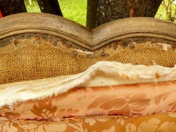 Tête de lit ancienne a restaurer