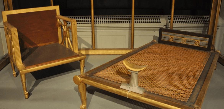 Les meubles de l'Égypte antique