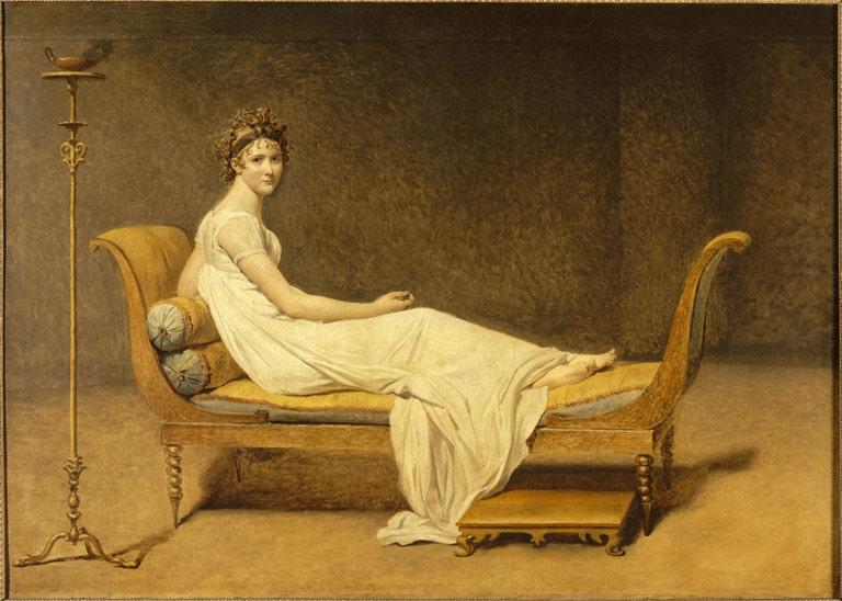 Portrait Madame Récamier