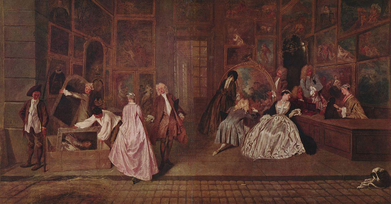Tableau Watteau Rococo