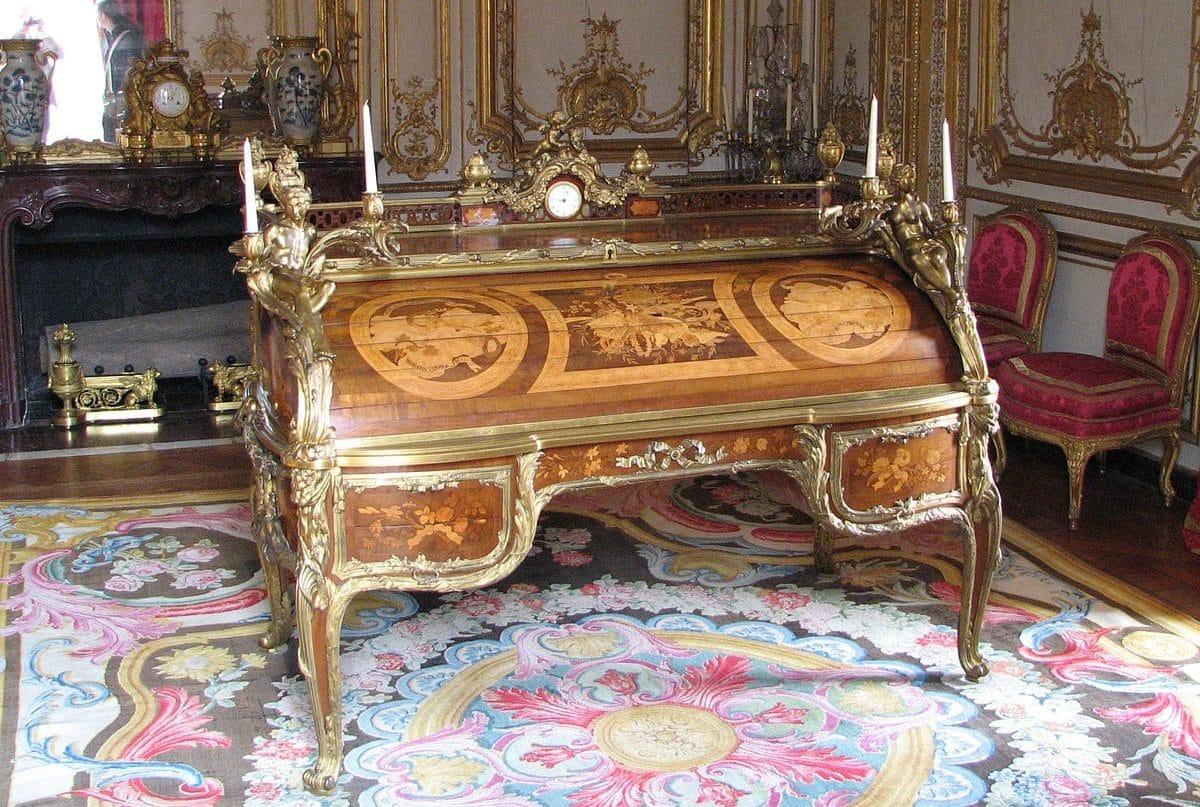 Bureau du roi louis XVI