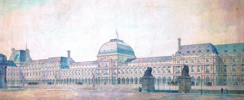 Plan Palais Tuilleries