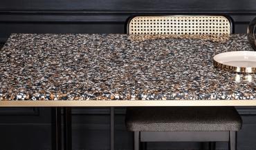 Terrazzo : revêtement de sol pour meuble