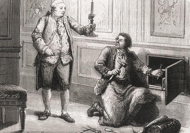Armoire de fer de Louis XVI