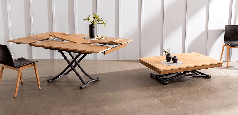 Table modulable scandinave