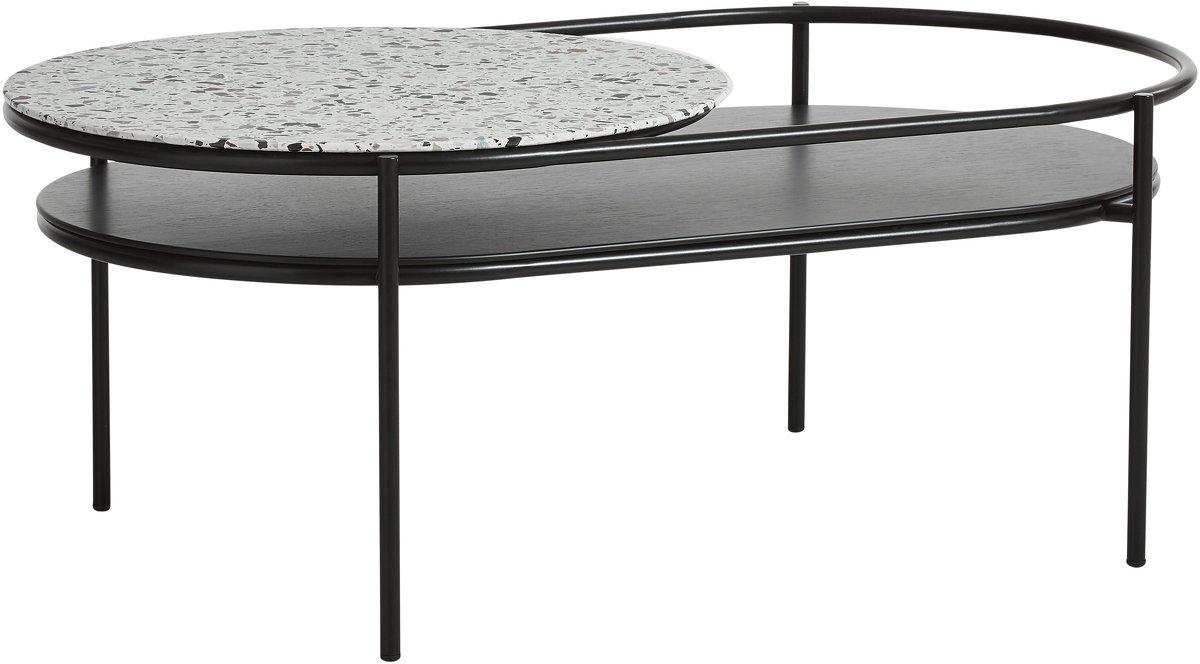 Table basse en terrazzo