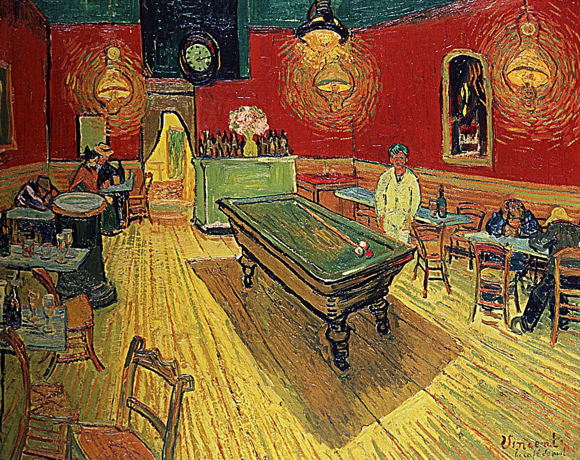 Billard Vincent Van Gogh