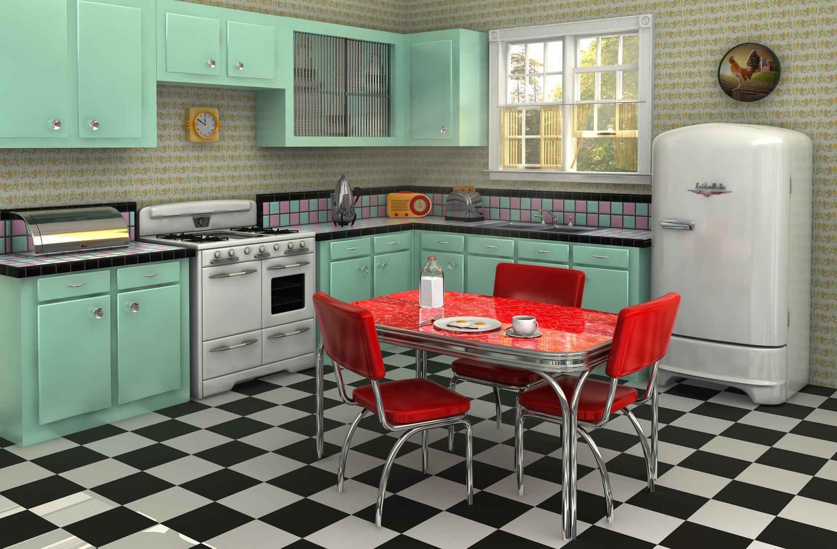 image cuisine vintage
