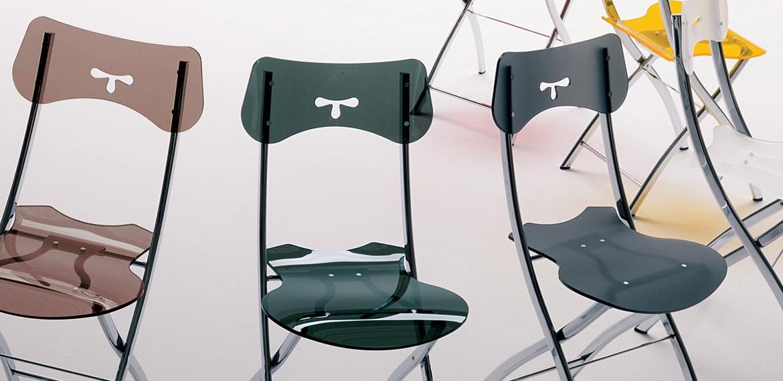 Chaise pliante pratique et gain de place