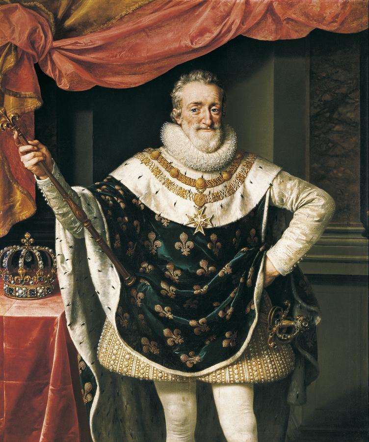 Henri 4 portrait
