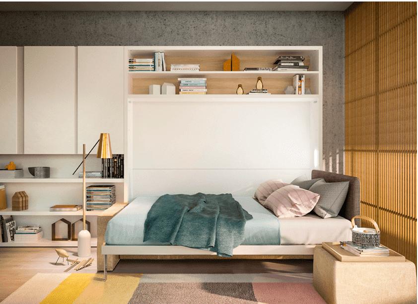 armoire lit verticale
