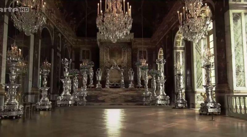 mobilier argent Louis XIV