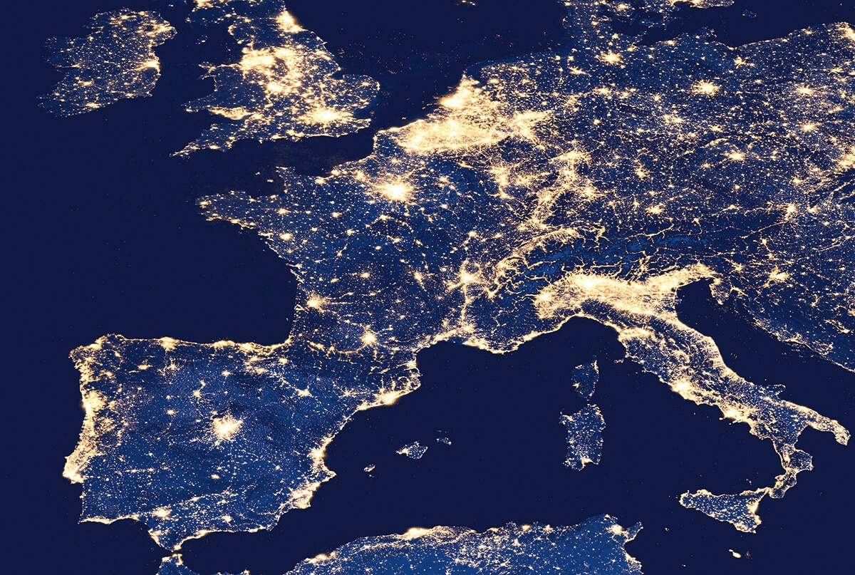 Europe de nuit