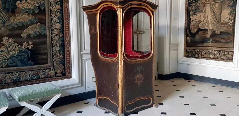 Chaise à porteur chateau