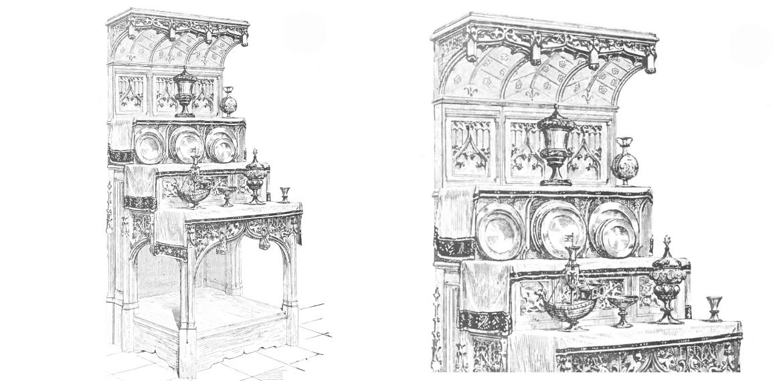 dressoir illustration