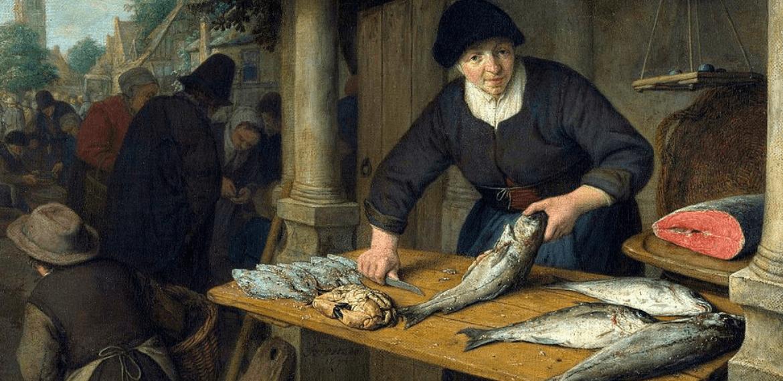 La poissonnière, par Adriaen van Ostade
