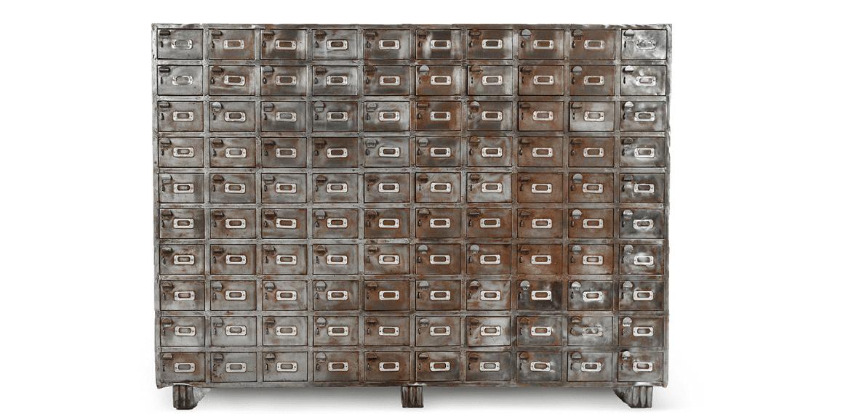 casier de rangement usine