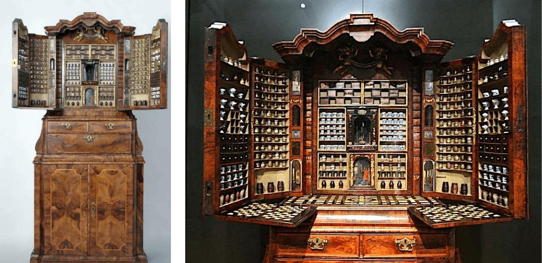 Cabinet d'Apothicaire de 1730