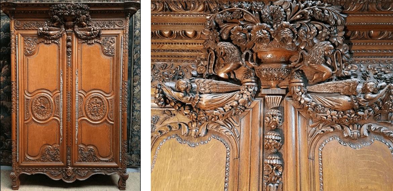 armoire normande détails